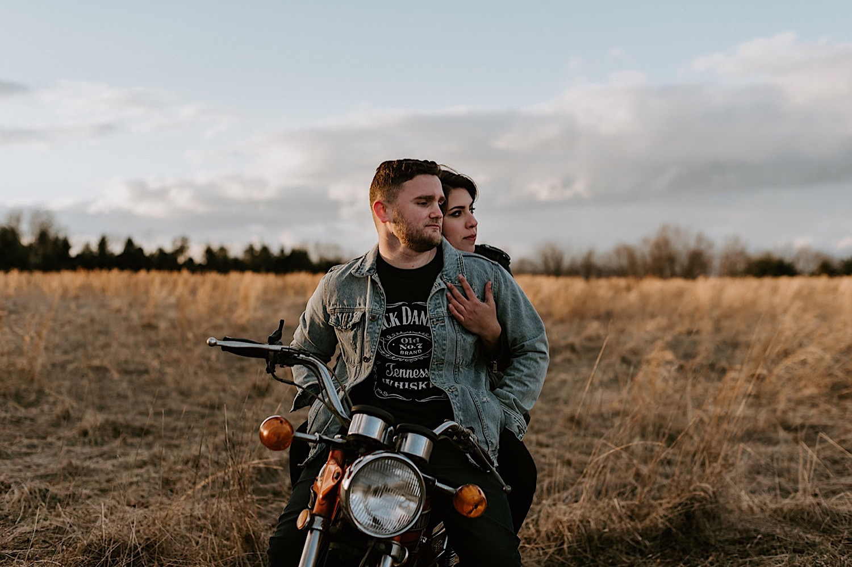 100 Motorbike Engagement Session NJ Wedding Photographer