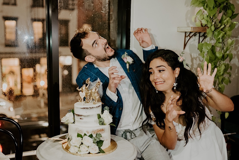 156 Brooklyn Rooftop Wedding New York Wedding Photographer Brooklyn Dumbo Elopement Williamsburg Wedding