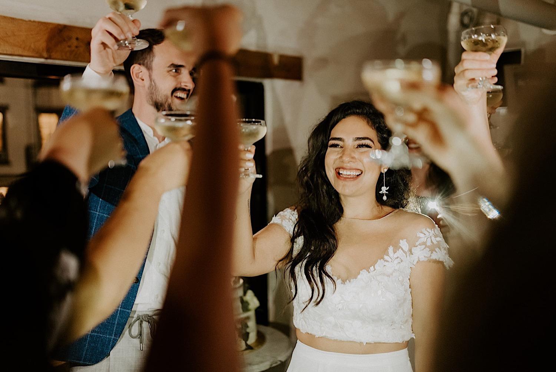 171 Brooklyn Rooftop Wedding New York Wedding Photographer Brooklyn Dumbo Elopement Williamsburg Wedding