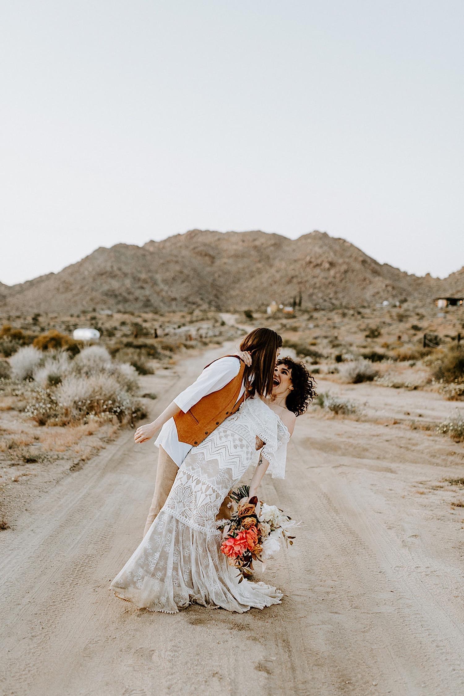 182 Joshua Tree Elopement Palm Springs Wedding California Wedding Photographer