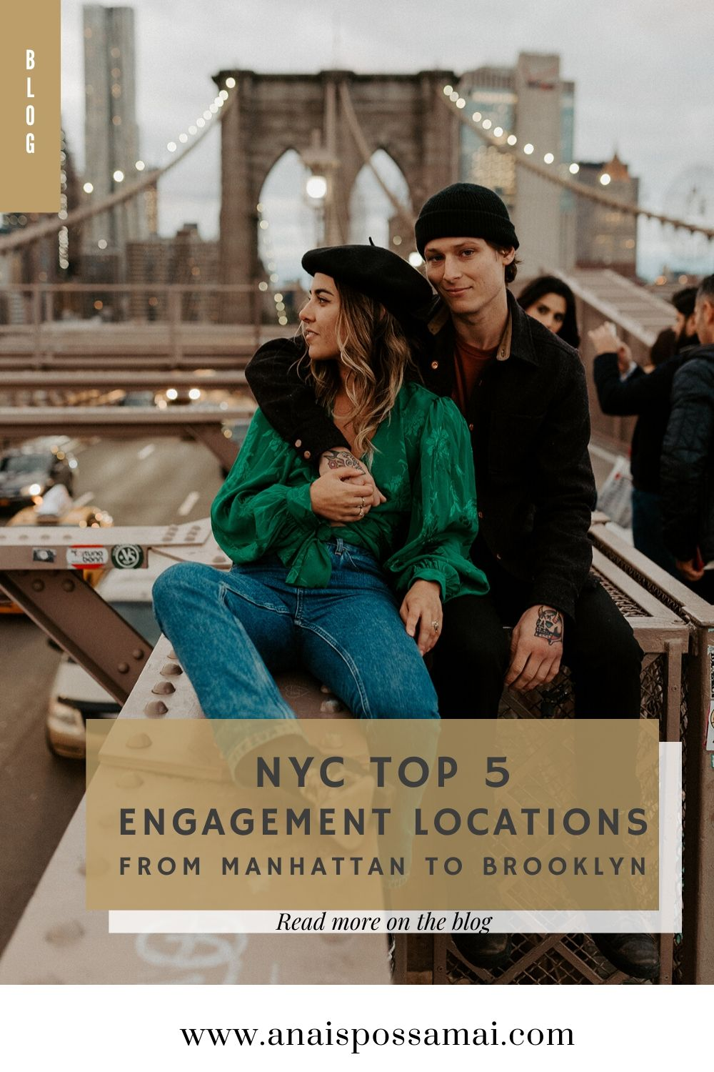 NYC Top 5 Locations For Your Engagement Photos From Manhattan To Brooklyn Best Engagement Photos Location In New York City
