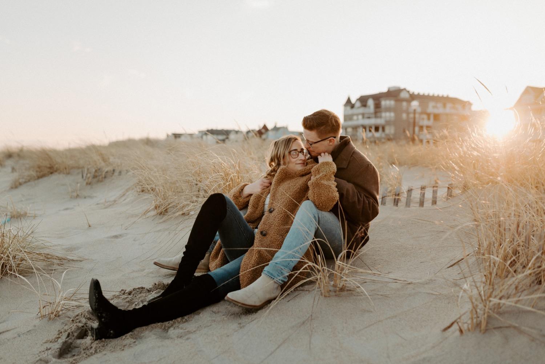 Asbury Park Engagement Photos Winter Beach Engagement Session New Jersey Wedding Photographer Anais Possamai Photography 026