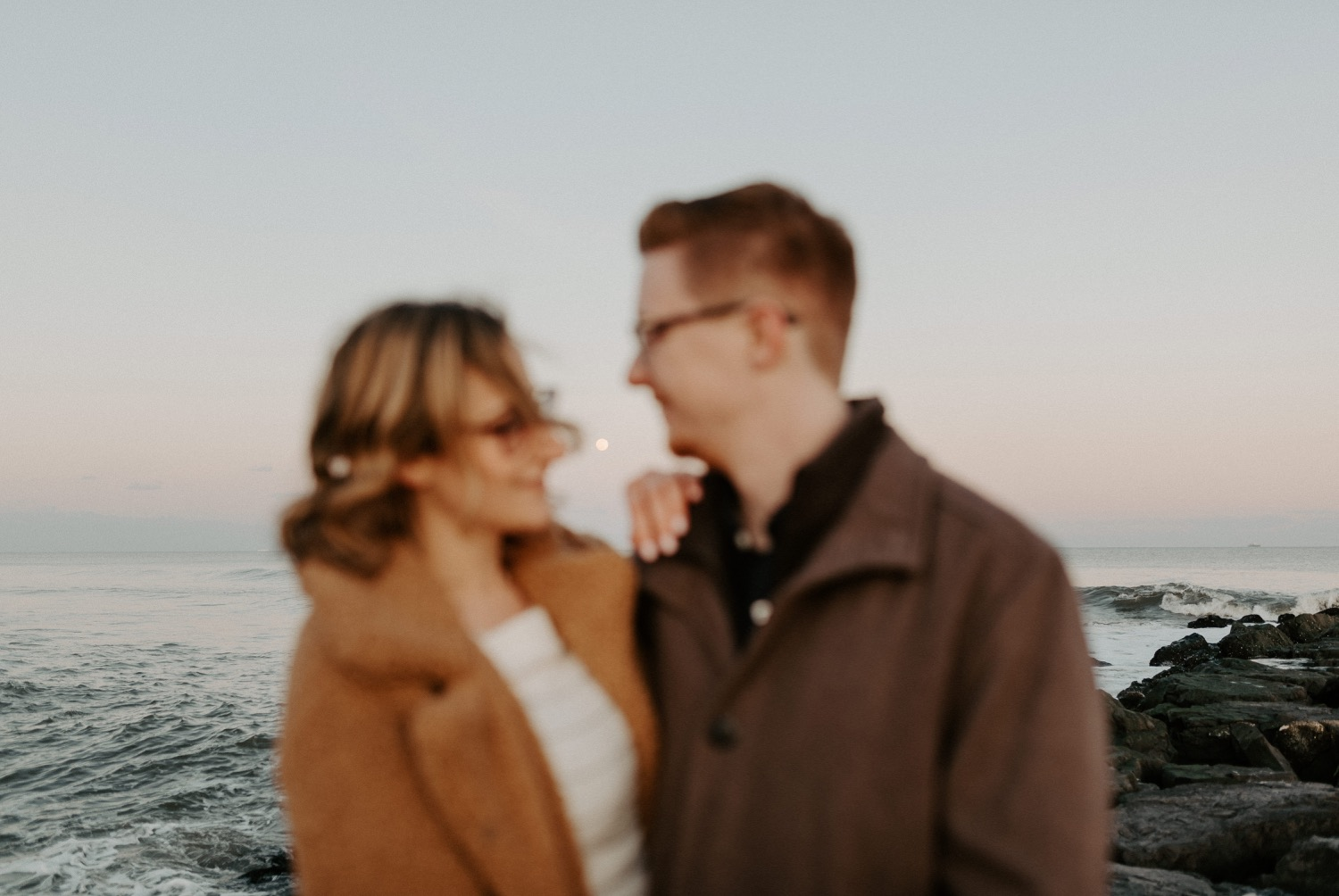Asbury Park Engagement Photos Winter Beach Engagement Session New Jersey Wedding Photographer Anais Possamai Photography 043