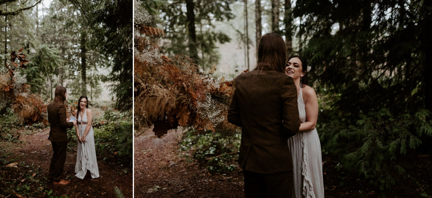 The Woodlands House Sandy Oregon Elopement Portland Elopement Photographer PNW Adventurous Elopement Anais Possamai Photography 017