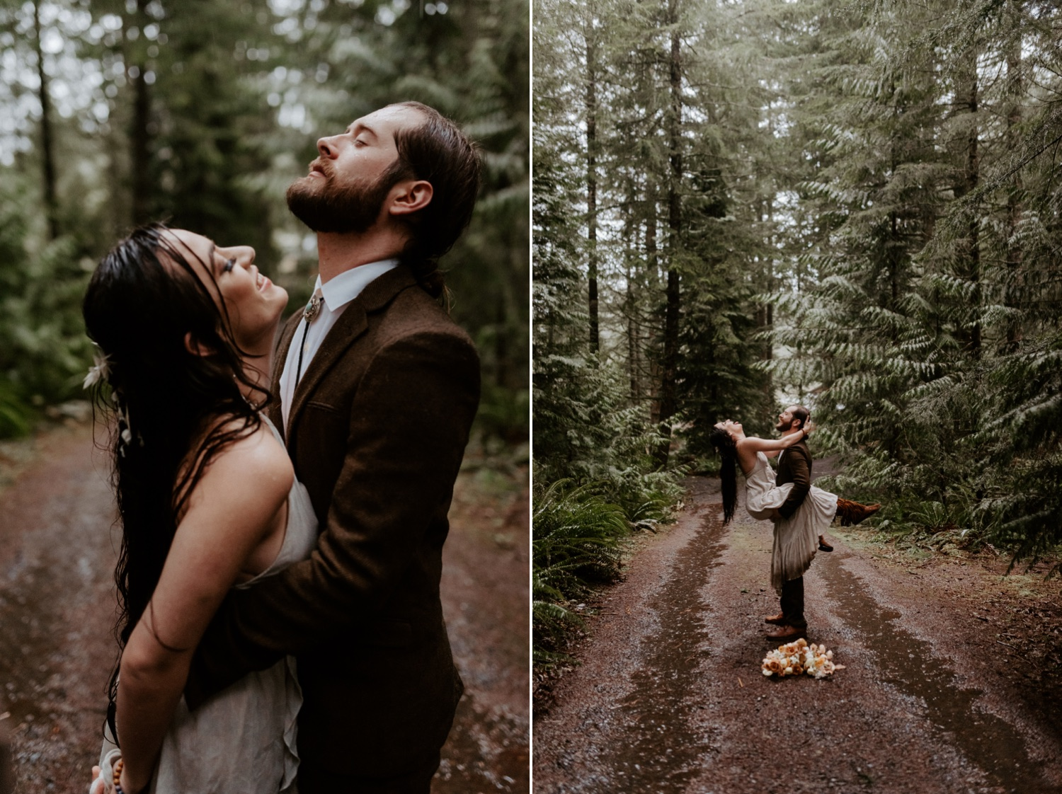 The Woodlands House Sandy Oregon Elopement Portland Elopement Photographer PNW Adventurous Elopement Anais Possamai Photography 031