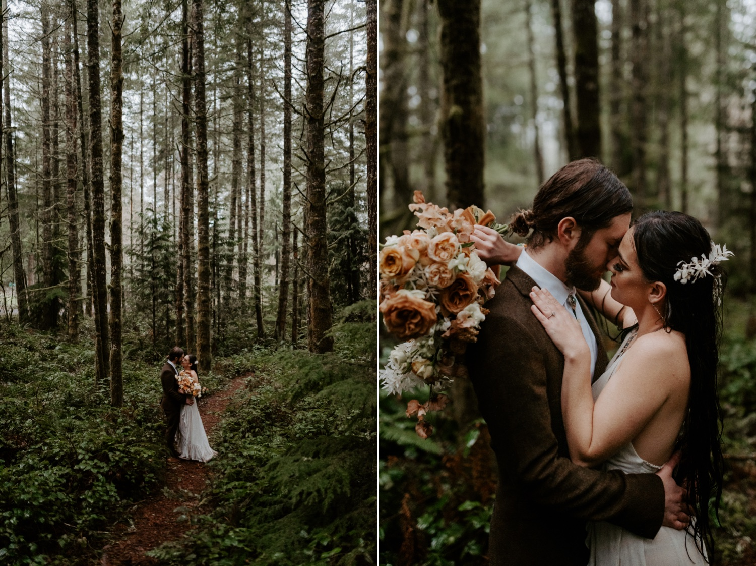 The Woodlands House Sandy Oregon Elopement Portland Elopement Photographer PNW Adventurous Elopement Anais Possamai Photography 039