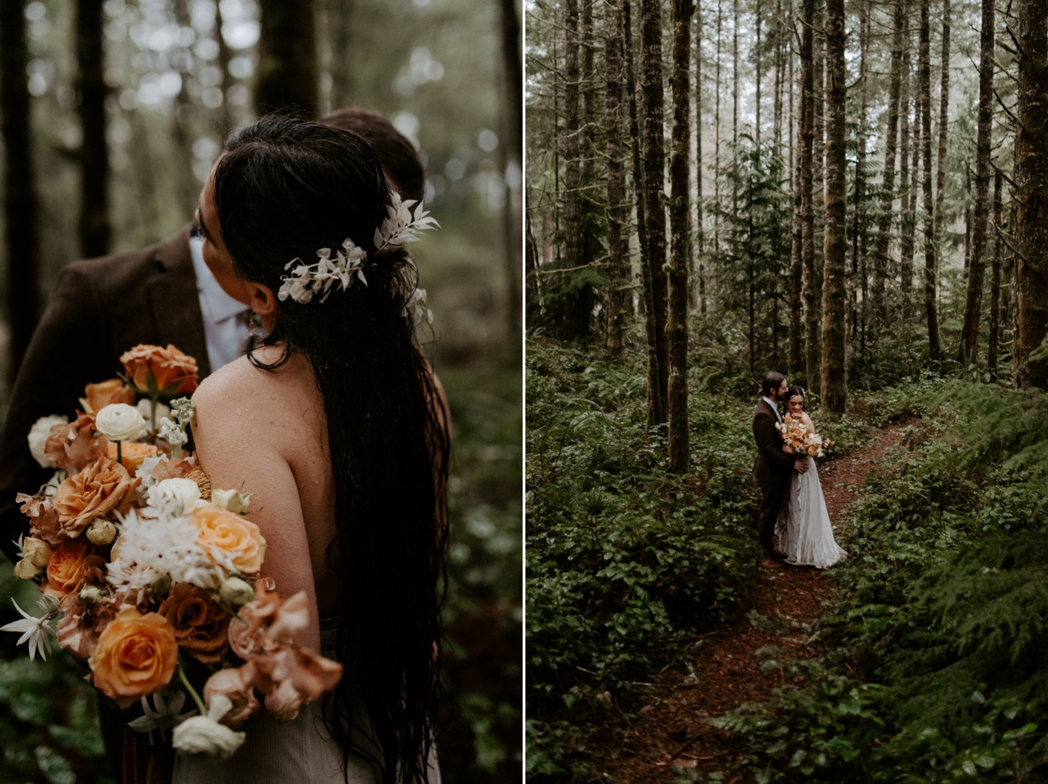 The Woodlands House Sandy Oregon Elopement Portland Elopement Photographer PNW Adventurous Elopement Anais Possamai Photography 042