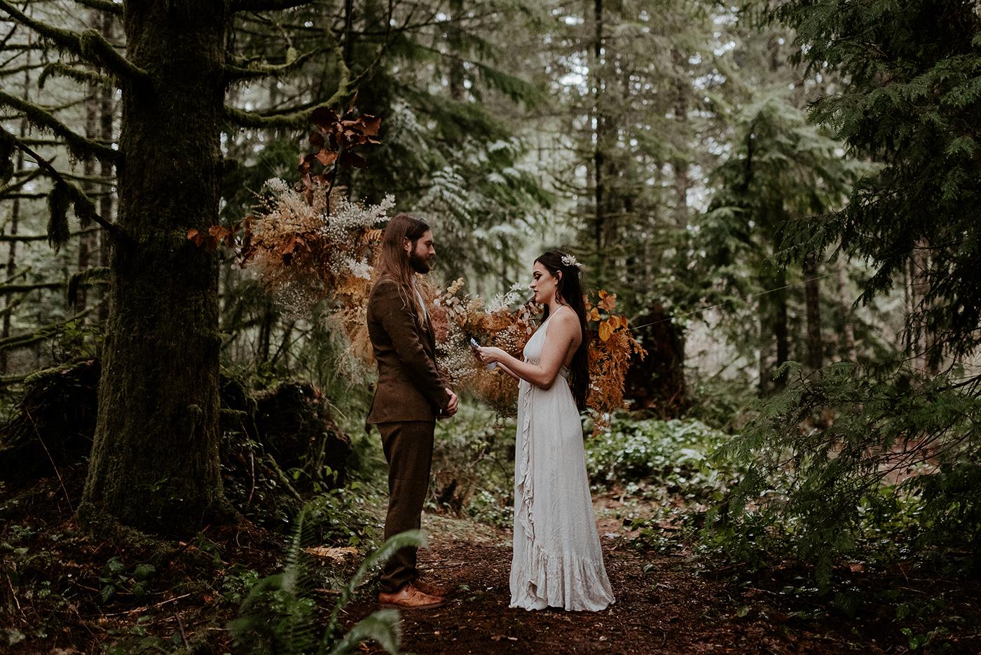 The Woodlands House Sandy Oregon Elopement PNW Wedding How To Plan A Destination Elopement Anais Possamai Photography 1