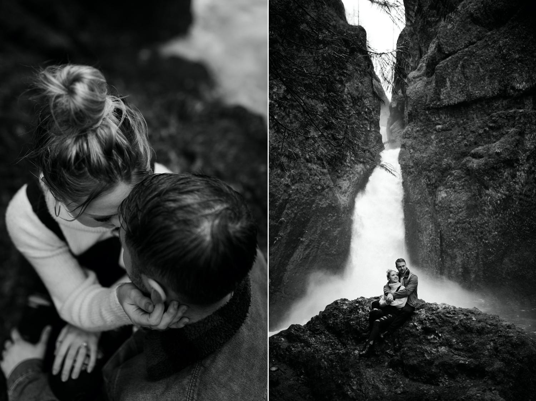 Wahclella Falls Engagement Session Columbia River Gorge Oregon Portland Wedding Photographer Anais Possamai Photography 034
