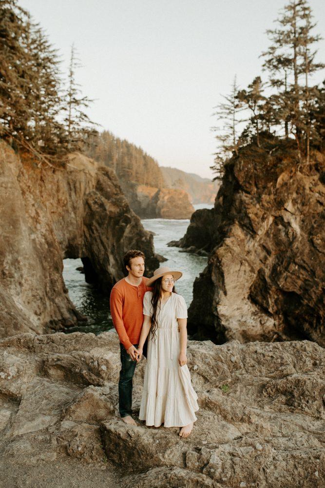 Oregon Coast Samuel H Boardman Engagement Session Anais Possamai Photography 19